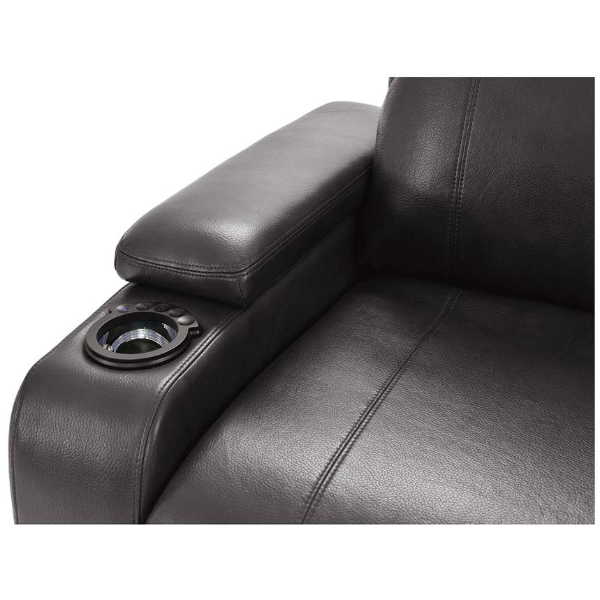 Magnetron Gray Power Motion Sofa w/Right & Left Recliners  alternate image, 6 of 12 images.