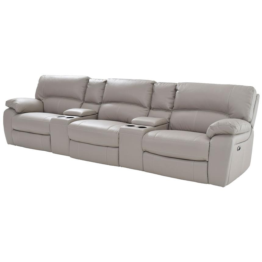 Camillo Gray Home Theater Seating  main image, 1 of 7 images.