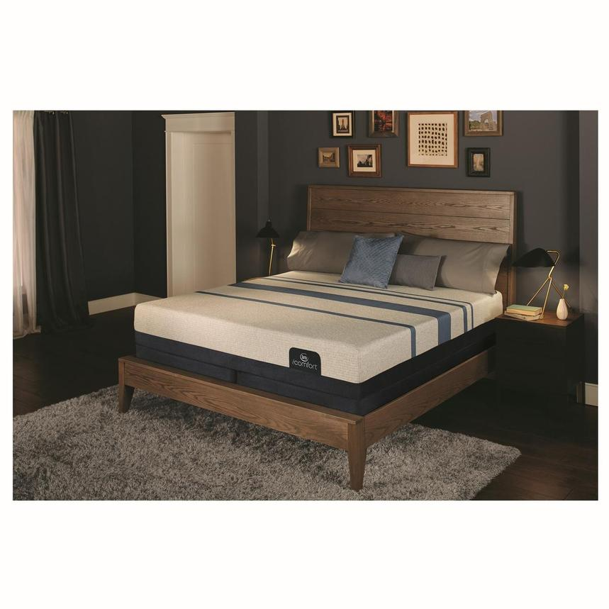 iComfort Blue 300 King Mattress w/Regular Foundation by Serta  alternate image, 2 of 4 images.