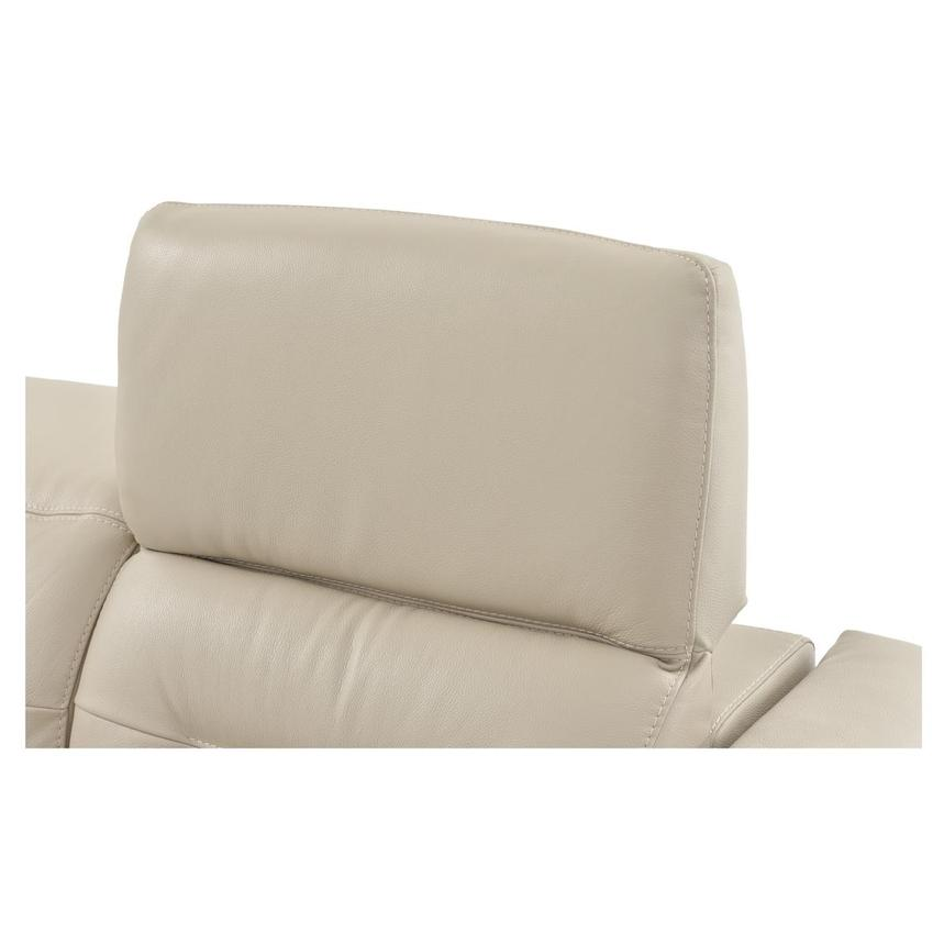 Anabel Cream Power Motion Leather Sofa w/Right & Left Recliners  alternate image, 10 of 14 images.