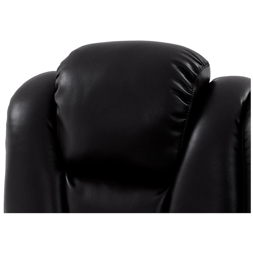 Transformer II Black Power Motion Sofa w/Console  alternate image, 6 of 10 images.