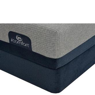 iComfort Blue Max 1000 Cushion Firm Full Mattress w/Low Foundation by Serta