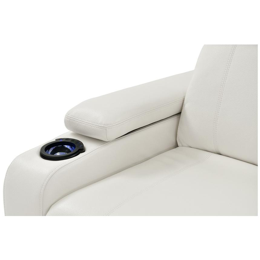 Magnetron White Power Motion Sofa w/Right & Left Recliners  alternate image, 6 of 12 images.