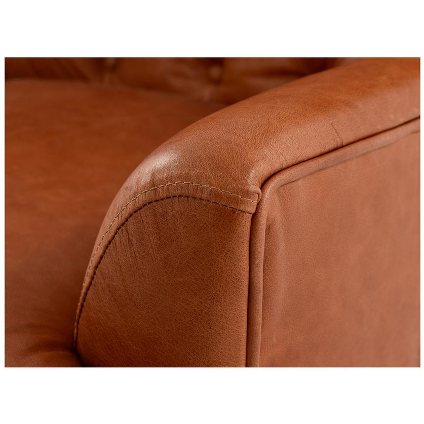 Dante Tan Leather Accent Chair  alternate image, 6 of 7 images.