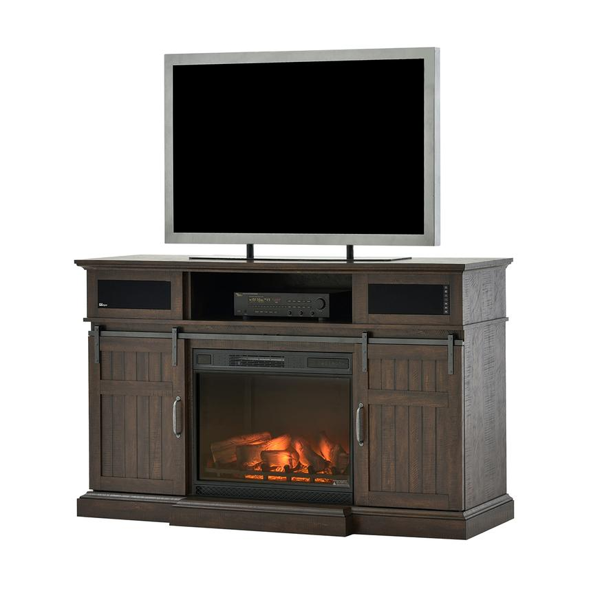 Dianni Faux Fireplace w/Speakers  main image, 1 of 6 images.