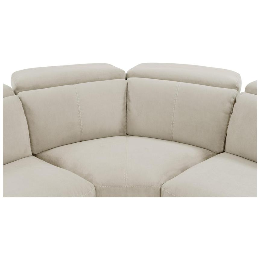 Jameson White Power Reclining Sectional  alternate image, 5 of 9 images.
