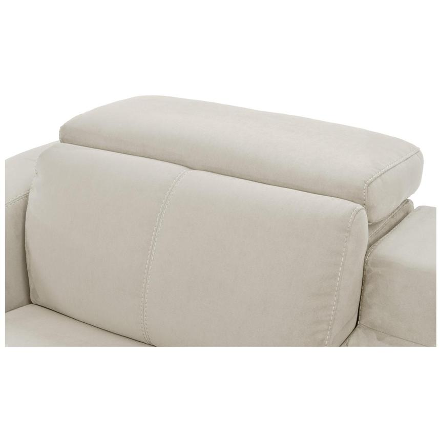 Jameson White Power Motion Sofa w/Right & Left Recliners  alternate image, 6 of 9 images.