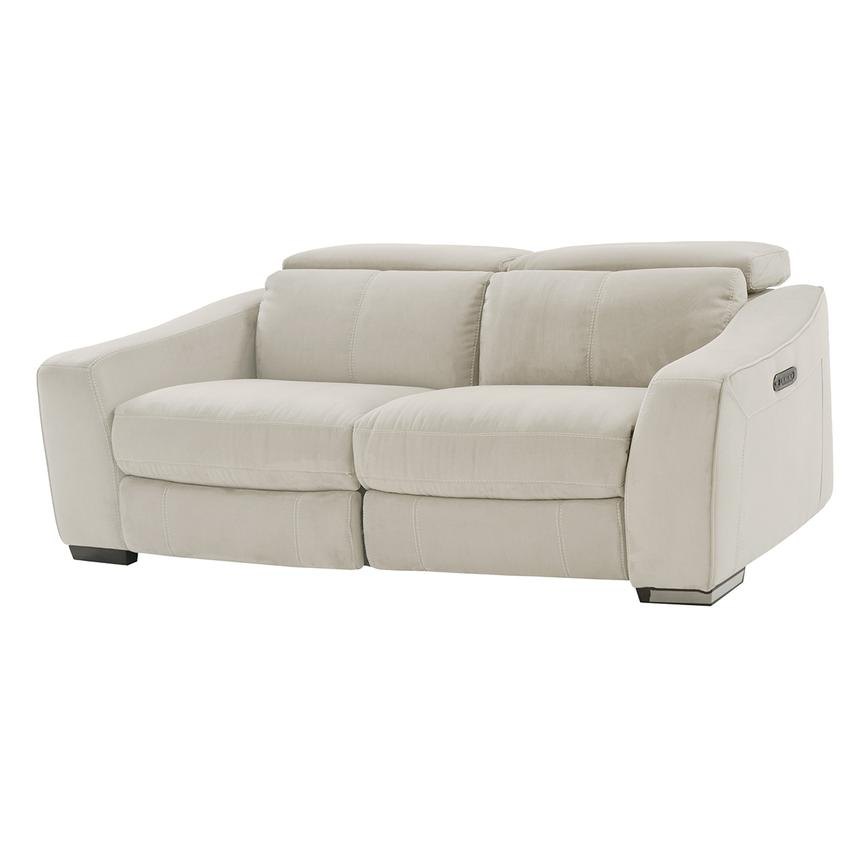 Jameson White Loveseat  main image, 1 of 8 images.