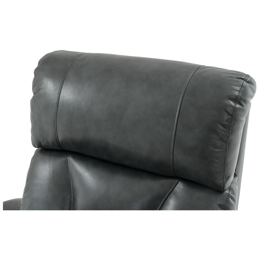 Gio Gray Leather Power Recliner  alternate image, 10 of 13 images.