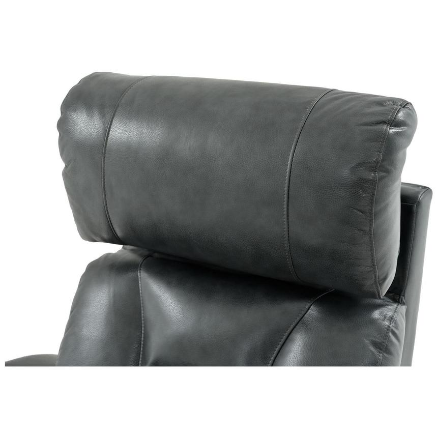 Gio Gray Leather Power Recliner  alternate image, 11 of 14 images.