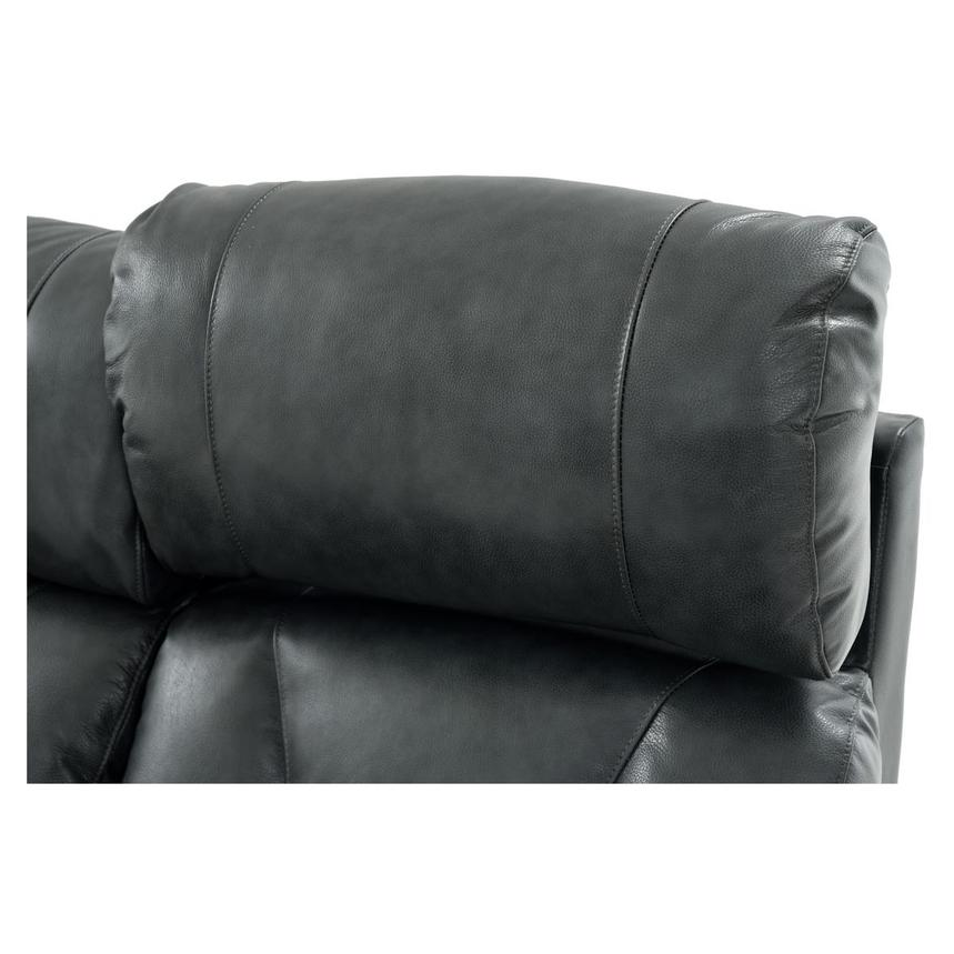 Gio Gray Leather Power Reclining Sofa  alternate image, 13 of 16 images.
