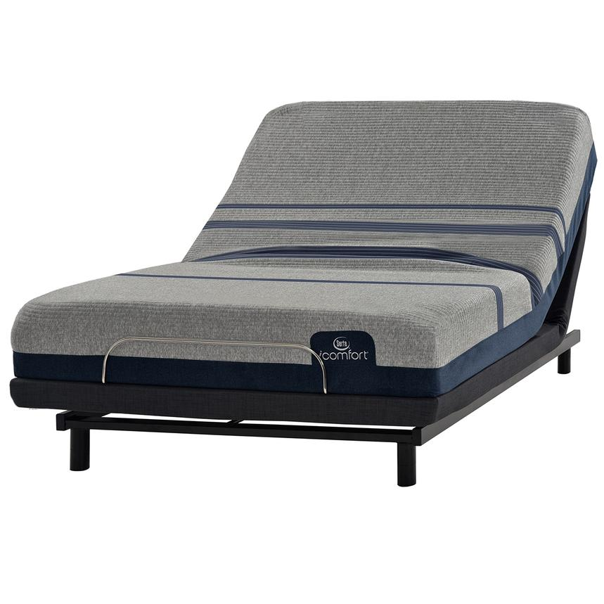 iComfort Blue Max 1000 Plush Twin XL Mattress w/Essentials III Powered Base by Serta  main image, 1 of 2 images.