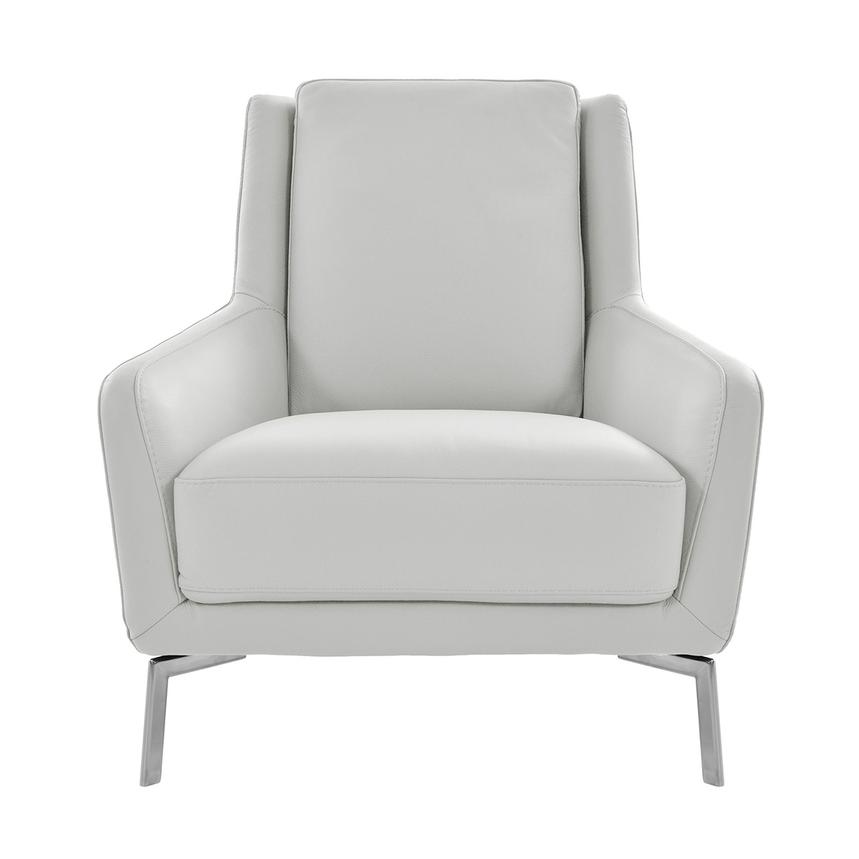 Fantastic Puella White Leather Accent Chair Ibusinesslaw Wood Chair Design Ideas Ibusinesslaworg