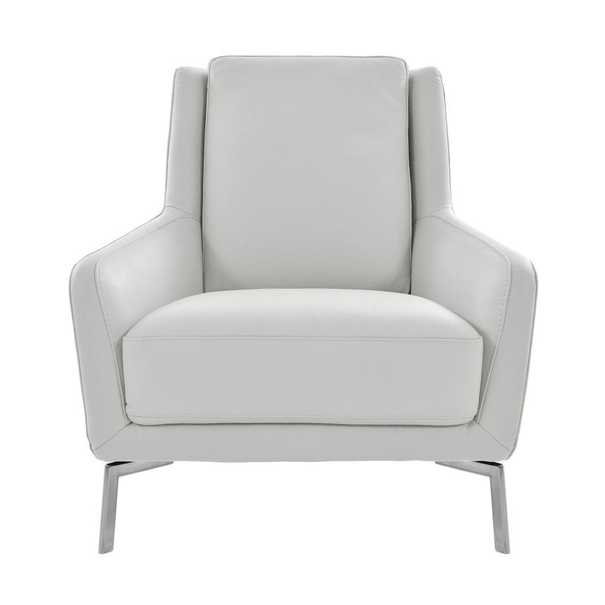 Pleasing Puella White Leather Accent Chair Machost Co Dining Chair Design Ideas Machostcouk
