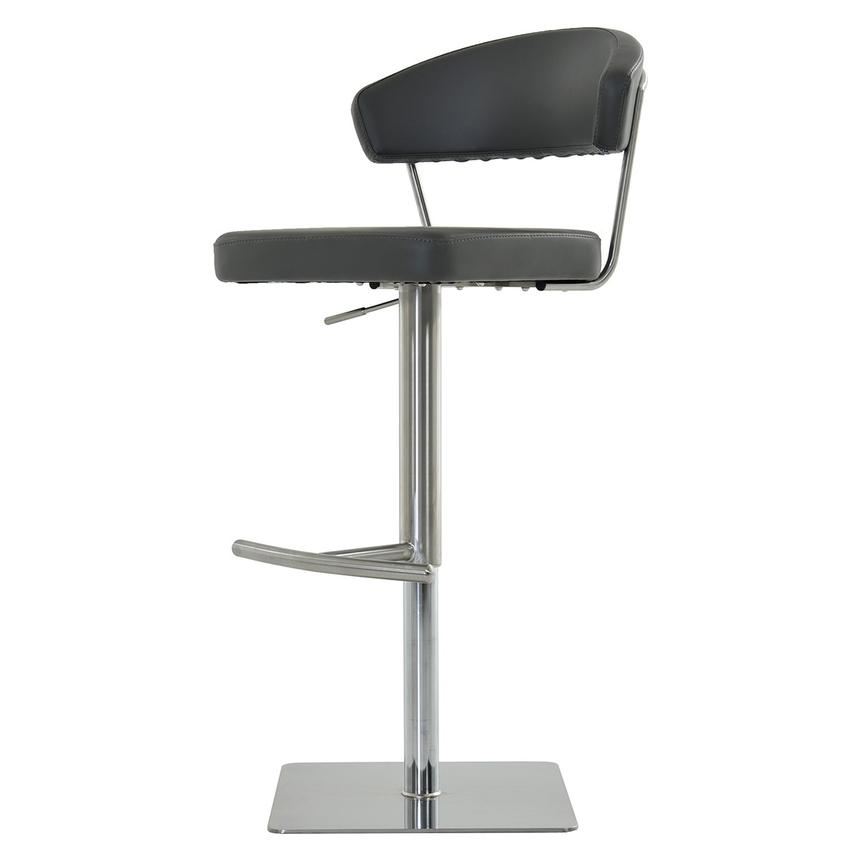 Bold Gray Adjustable Stool  main image, 1 of 7 images.