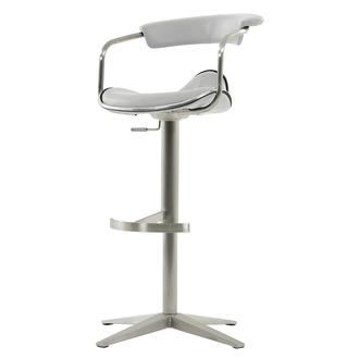 Primo White Adjustable Stool