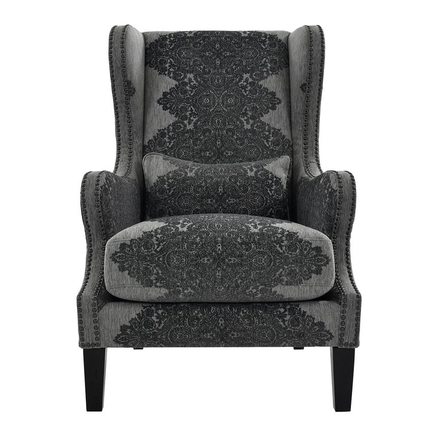 Sophia Black Accent Chair  main image, 1 of 7 images.