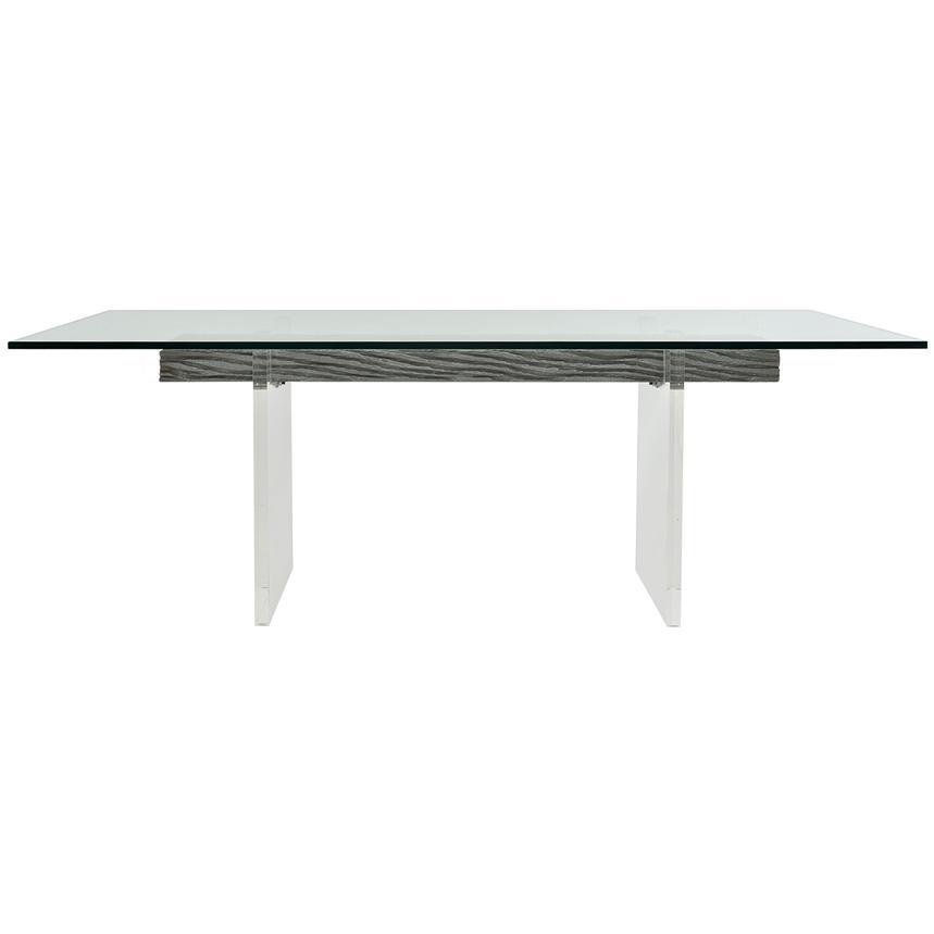 Fabulous Miami Beach Gray Rectangular Dining Table Interior Design Ideas Philsoteloinfo