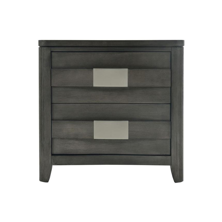 Contour Gray Nightstand  main image, 1 of 9 images.