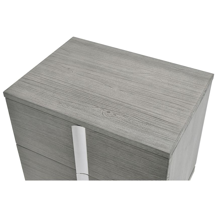 Venezia Gray Nightstand Made in Brazil  alternate image, 5 of 8 images.