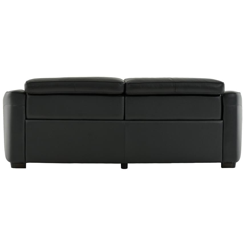 Jay Dark Gray Leather Power Reclining Sofa  alternate image, 5 of 7 images.