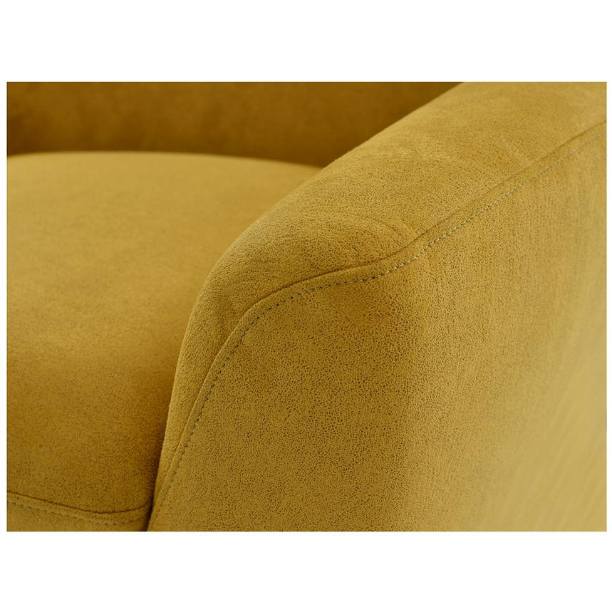 Grigio Yellow Accent Chair  alternate image, 7 of 8 images.