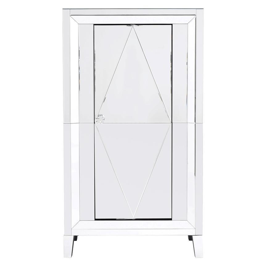 Amia Mirrored Bar Cabinet  main image, 1 of 8 images.