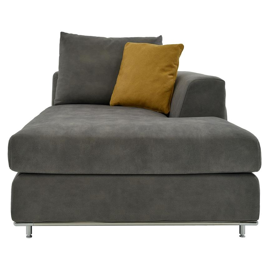 Grigio Gray Right Chaise  main image, 1 of 8 images.
