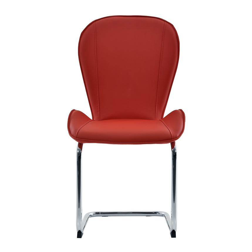 Latika Red Side Chair  main image, 1 of 7 images.