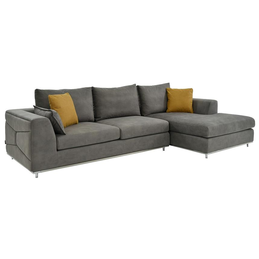 Grigio Sofa W Right Chaise Main Image 1 Of 5 Images