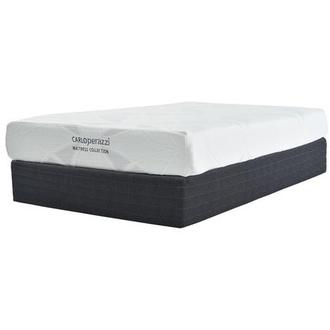 Denali Twin Memory Foam Mattress w/Low Foundation by Carlo Perazzi
