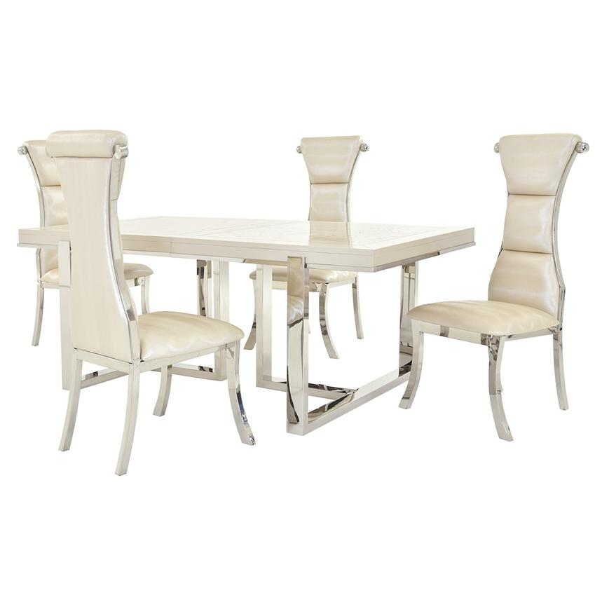 Cydney/Lillian 5-Piece Dining Set  main image, 1 of 12 images.