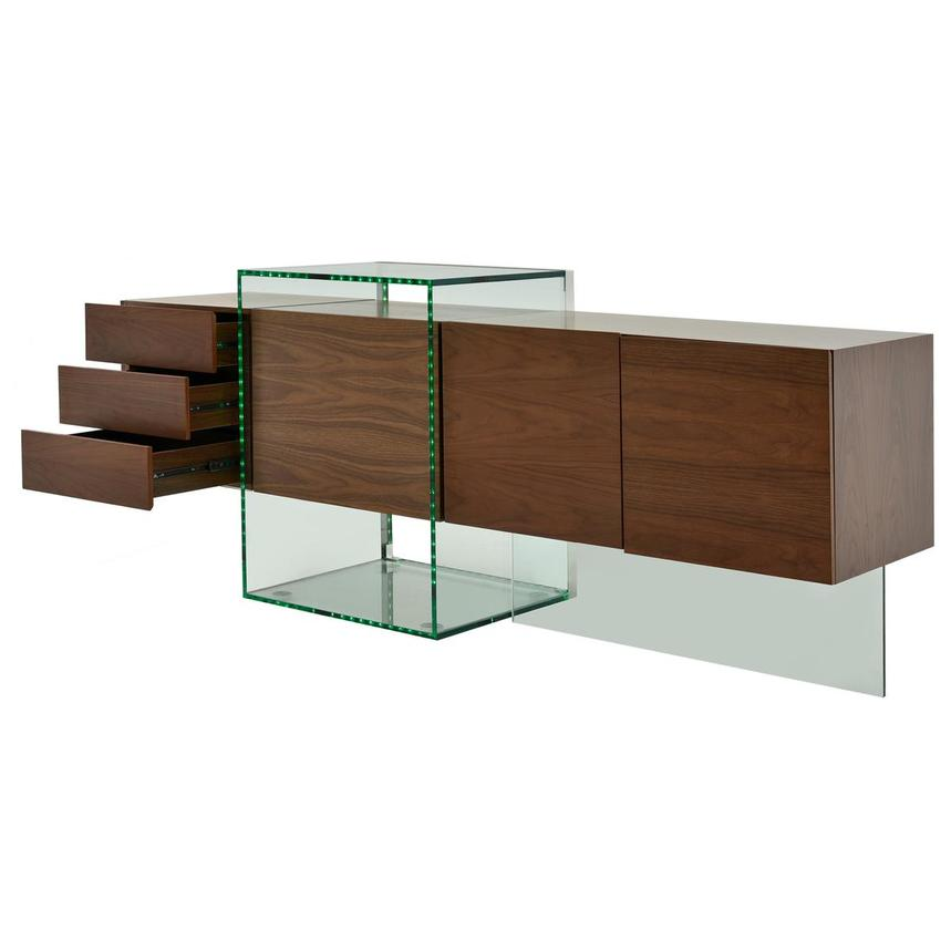 Illusion Walnut Cabinet w/Remote Control  alternate image, 5 of 11 images.