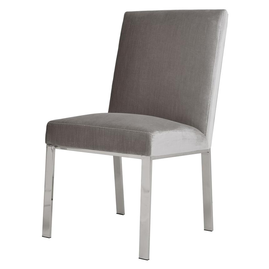 Wellington Light Gray Side Chair  main image, 1 of 5 images.