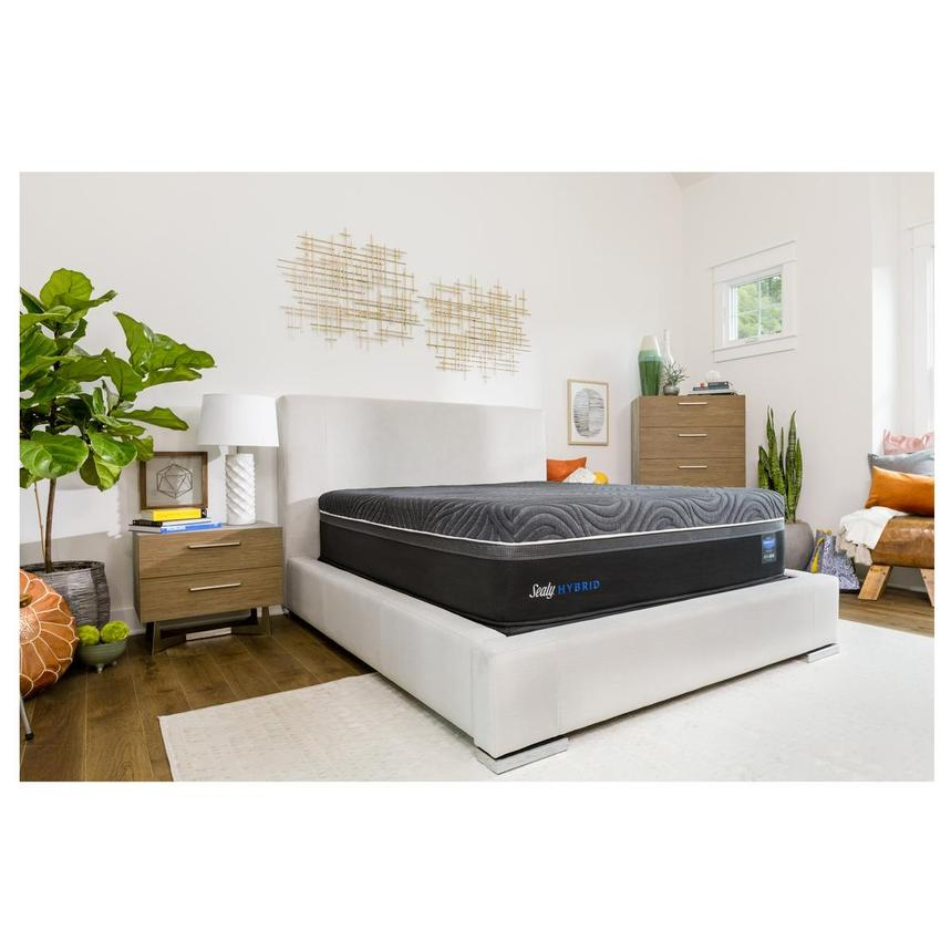Silver Chill Queen Mattress by Sealy Posturepedic Hybrid  alternate image, 2 of 6 images.
