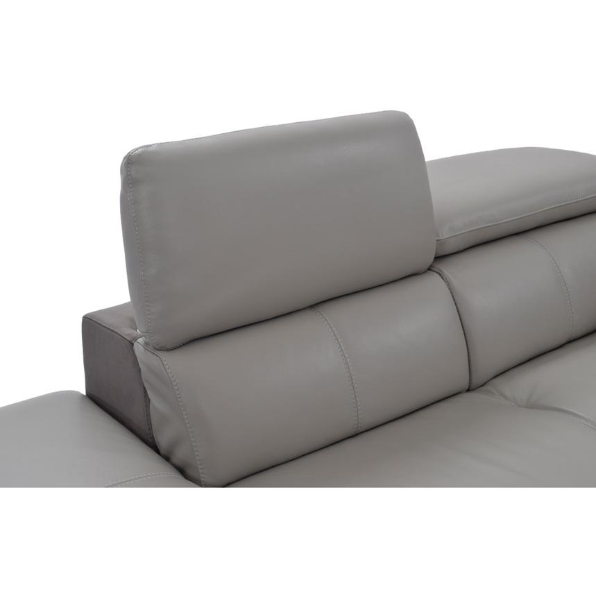 Richardson Leather Power Reclining Sofa w/Left Chaise