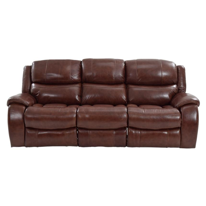 Abilene Recliner Leather Sofa  main image, 1 of 6 images.