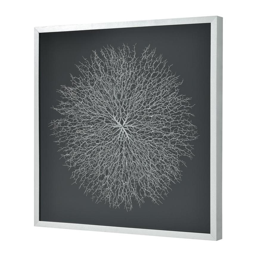 Silver Sea Fan Shadow Box  main image, 1 of 3 images.
