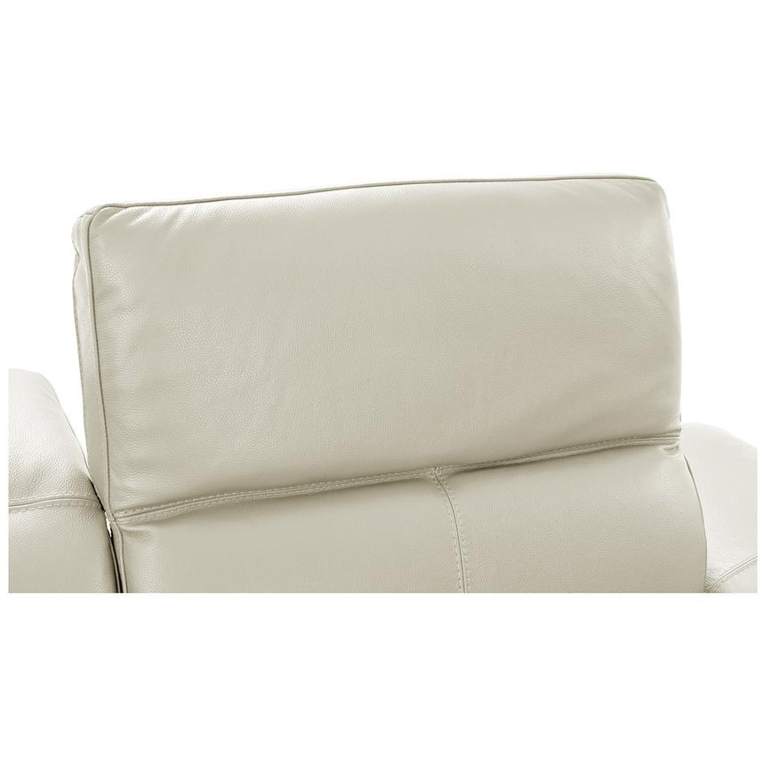 Toronto White Power Motion Leather Sofa w/Left Chaise  alternate image, 6 of 11 images.