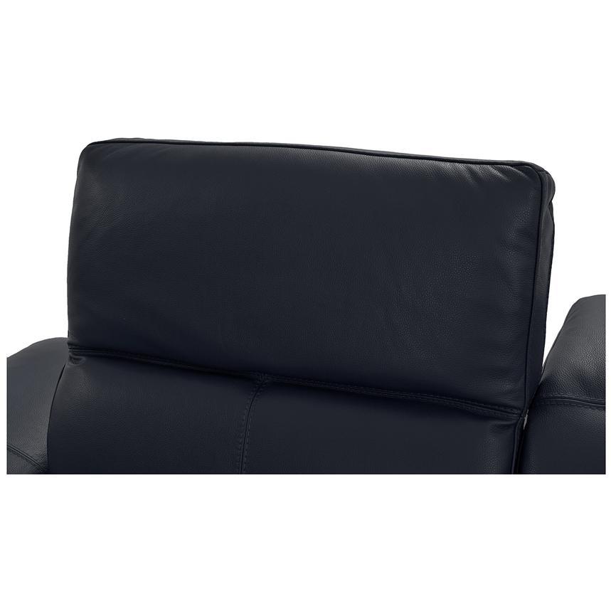 Fine Toronto Dark Gray Leather Power Reclining Sofa W Right Chaise Customarchery Wood Chair Design Ideas Customarcherynet