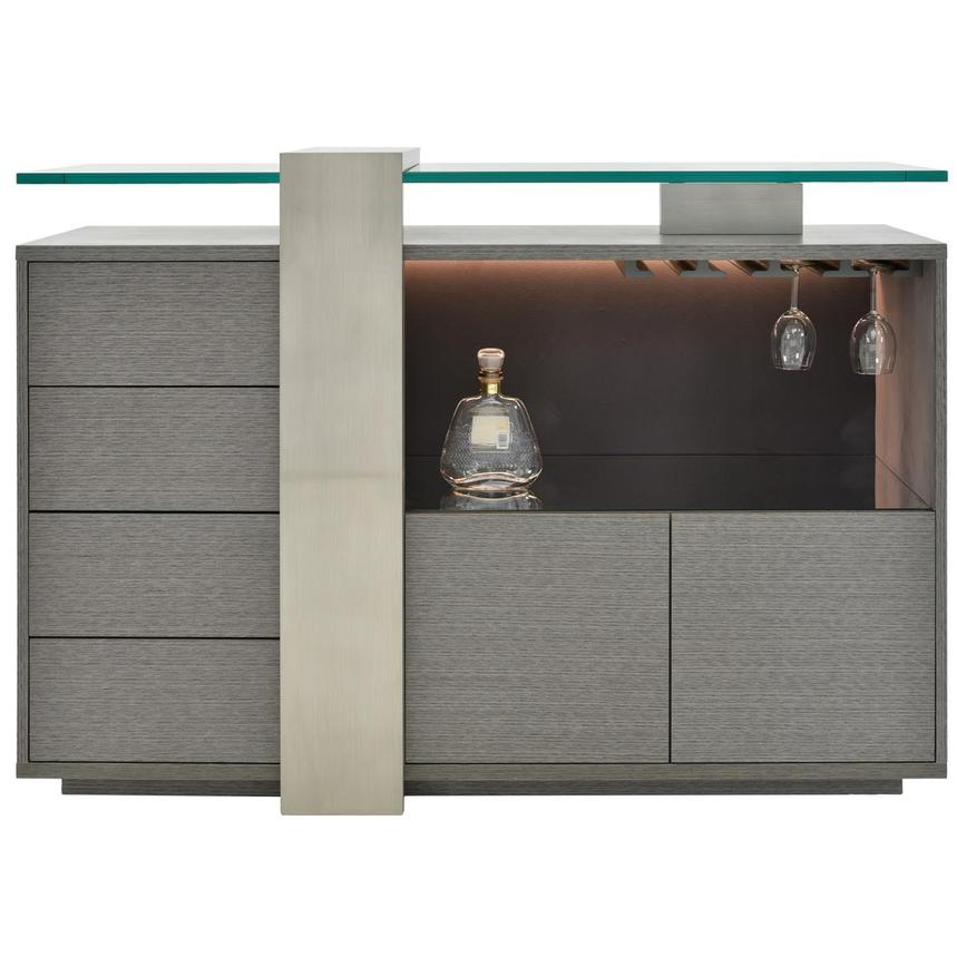 Totem Gray Bar Cabinet  main image, 1 of 8 images.