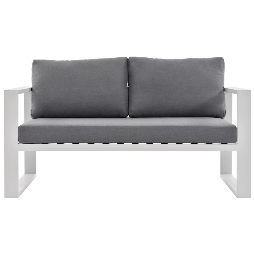 Mykonos Gray Loveseat  main image, 1 of 5 images.