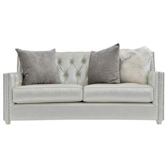 Sonia Cream Loveseat
