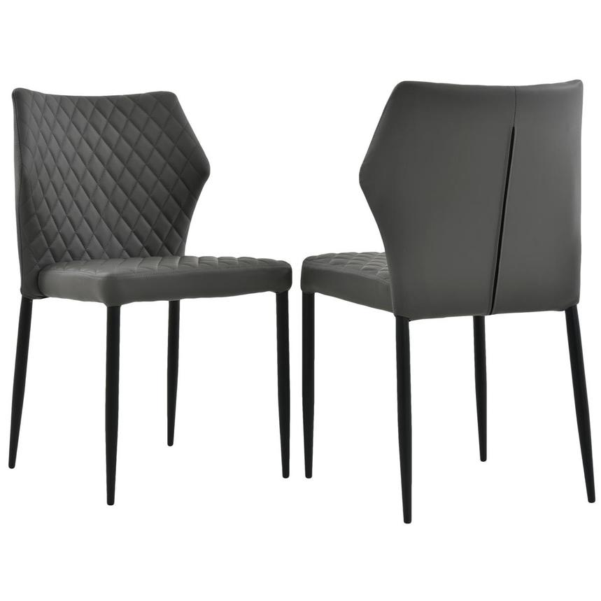 Zari Gray Side Chair  alternate image, 5 of 7 images.