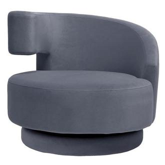 Okru Gray Swivel Chair