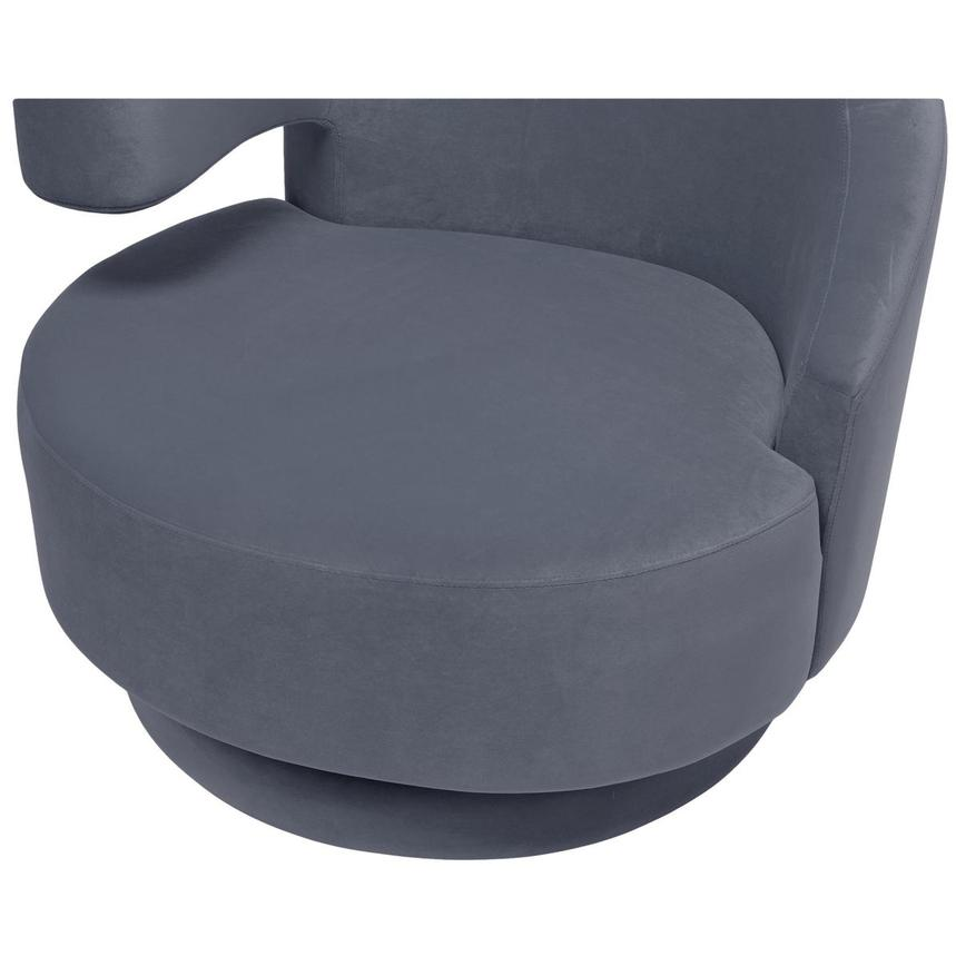 Okru Gray Swivel Chair  alternate image, 6 of 6 images.