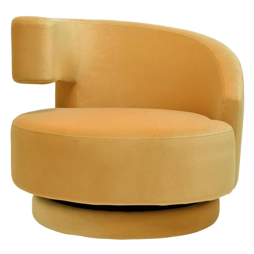 Okru Yellow Swivel Chair  main image, 1 of 6 images.