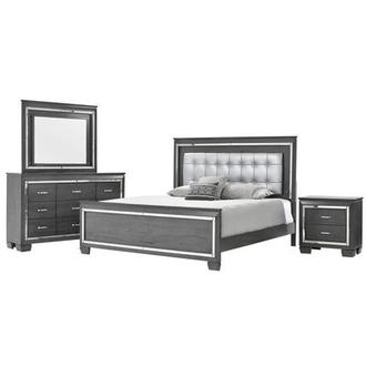 Jamie 4-Piece King Bedroom Set