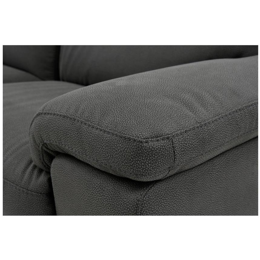 Karly Dark Gray Power Motion Sofa w/Right & Left Recliners  alternate image, 5 of 8 images.