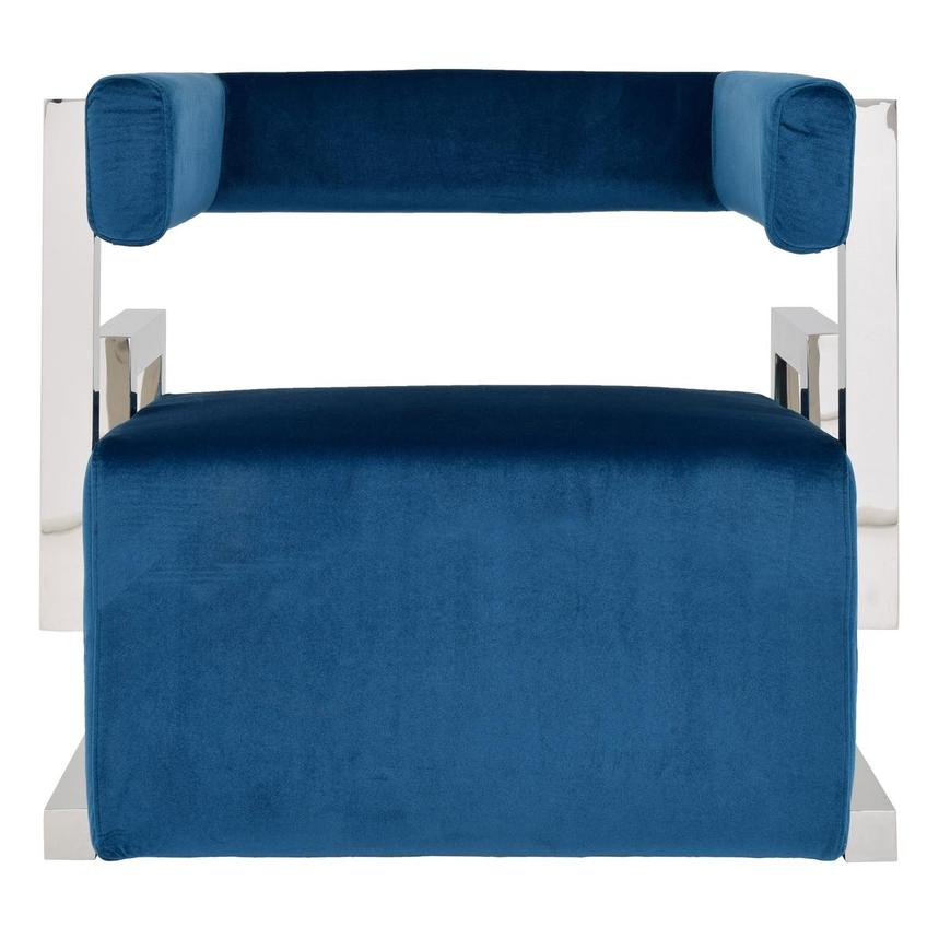 Versana Blue Accent Chair  main image, 1 of 5 images.